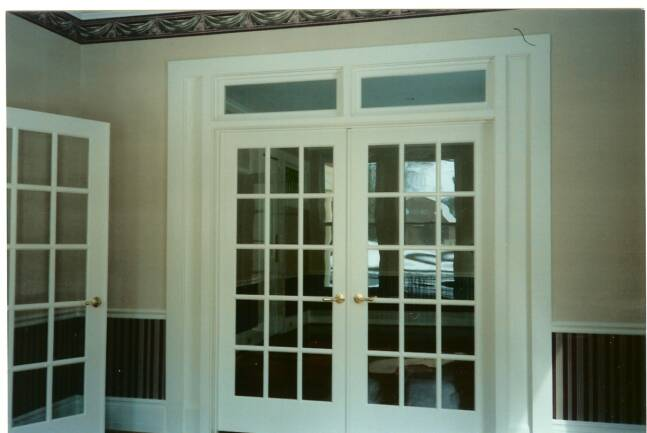 Incroyable Champlain Stone Office Interior Construction For The Glens Falls Queensbury  Saratoga Lake Interior French Doors With Transom And Sidelights